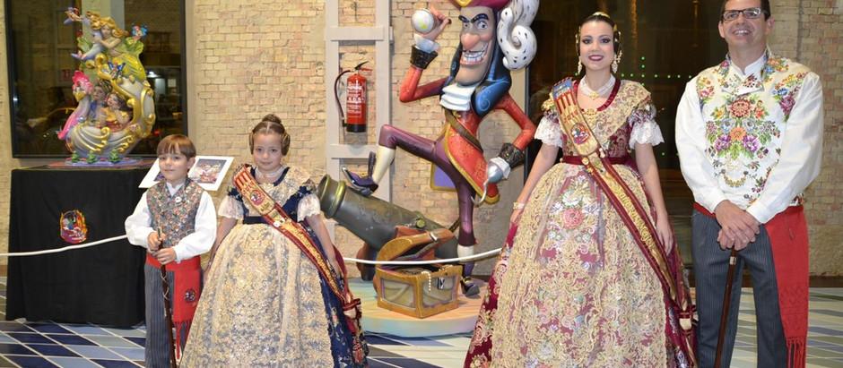 Inaguració de l'Exposició del Ninot i Sopar de Gala de JLF