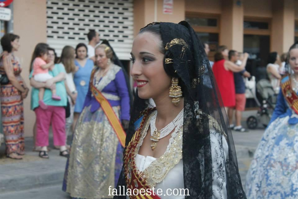 Noelia Vargas, representant de l'Oeste en la Junta Local Fallera