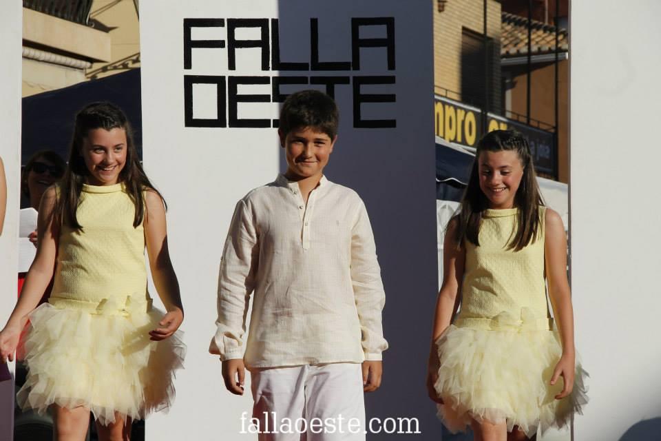 Núria, Maria i Carlos en la Passarel·la Oeste 2015