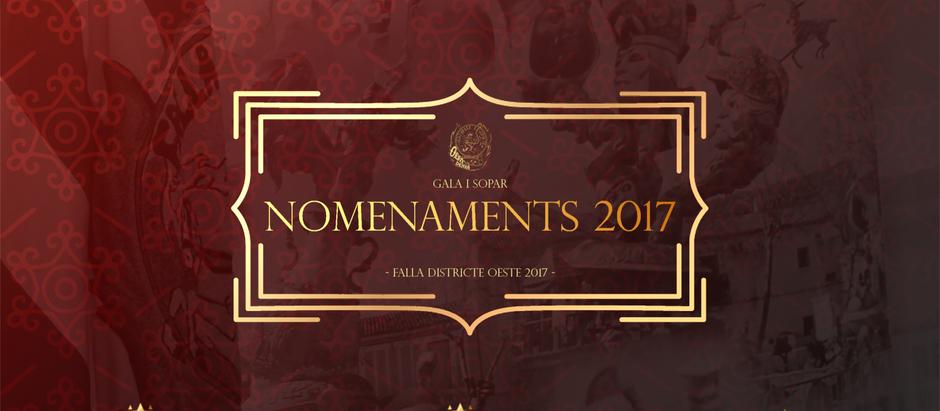 Nomenaments 2017
