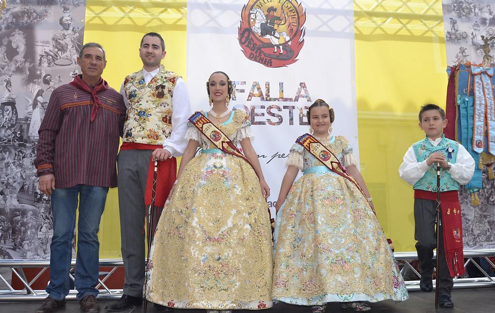 Paco Aranu, Regidor de Festes de l'Ajuntament de Dénia