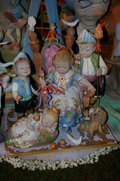 Ninot Indultat Infantil de les Falles de Dénia, dels Germans Parra