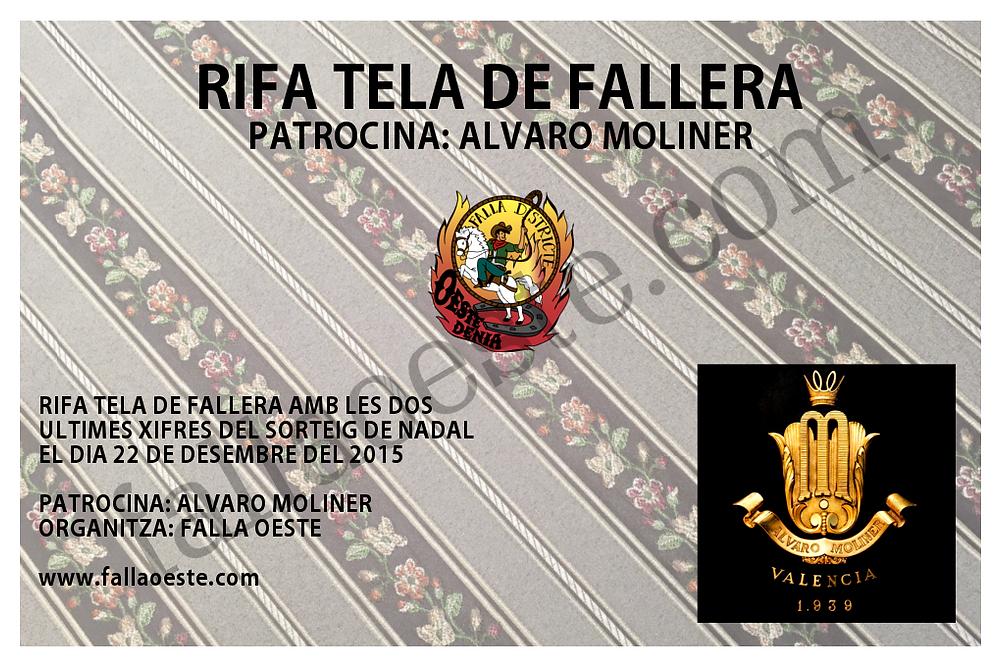 Rifa Tela de Fallera Alvaro Moliner