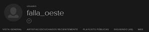 Spotify: falla_oeste