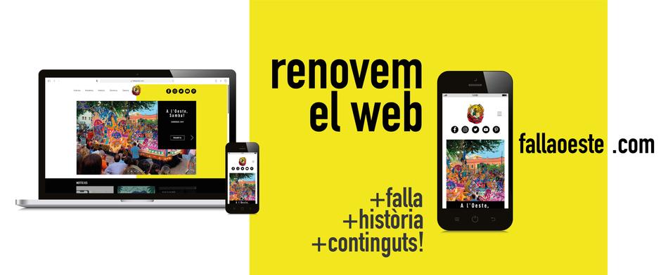 Renovem el web fallaoeste.com