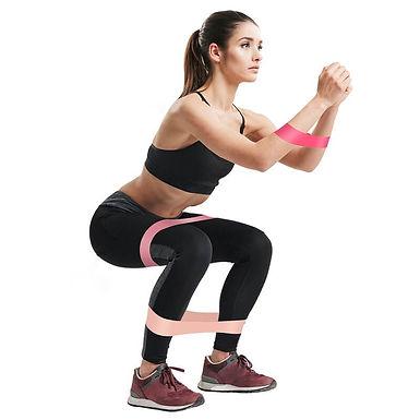 Bandas elasticas ejercicios gluteos