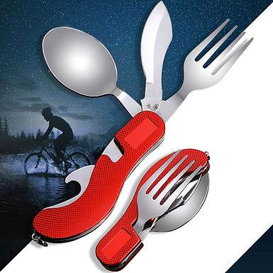 Kit de cuchillo cuchara y tenedor en uno