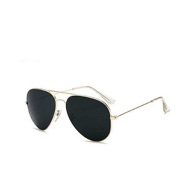 Gafas De Sol Aviador Polarizadas Color Solidas Con Lentes De Espejo Elegantes