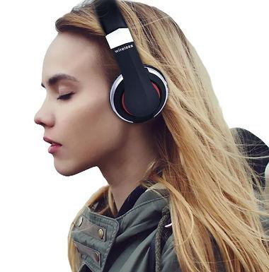 Auriculares Inalambricos Bluetooth MP3 FM Con Cable Para Móviles /PC Gaming PS4