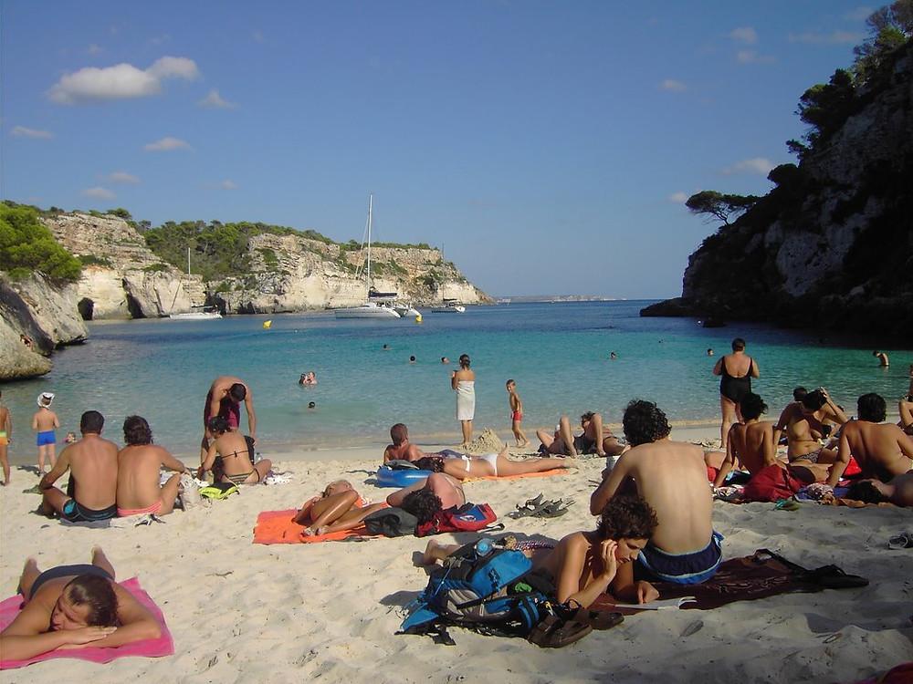 Las mejores playas de España Cala Macarelleta Menorca
