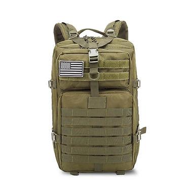 Mochila de mochileros táctico con muchos compartimentos para viajes largos