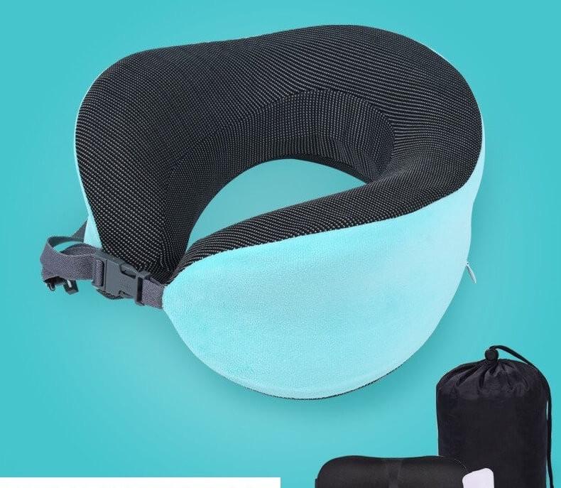 Kit Antifaz y descansador de cuello Para Dormir Durante El Viaje