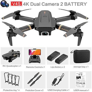 Drones/Dron con camara 4K hd gran angular wifi transmision en tiempo real