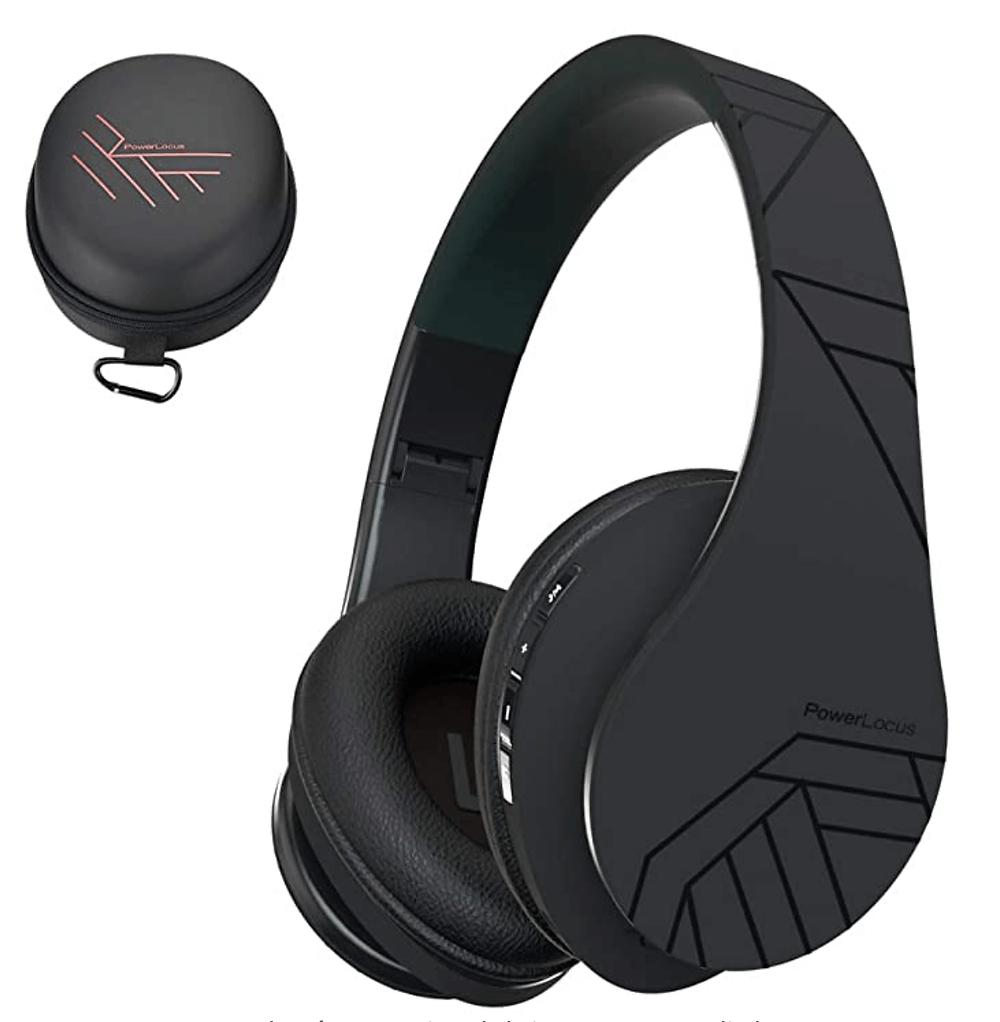 Parairdevacaciones.com_Auriculares Bluetooth inalambricos de Diadema plegables PowerLocus