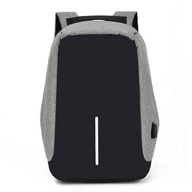 Mochila Portatil Antirrobo USB Pequeño Mochila Sin Cremalleras Visibles