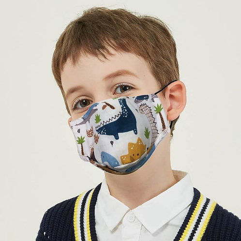 mascarillas reutilizables lavables niños con filtros N95 parairdevacaciones.com