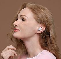 2Auriculares inalámbricos con Bluetooth