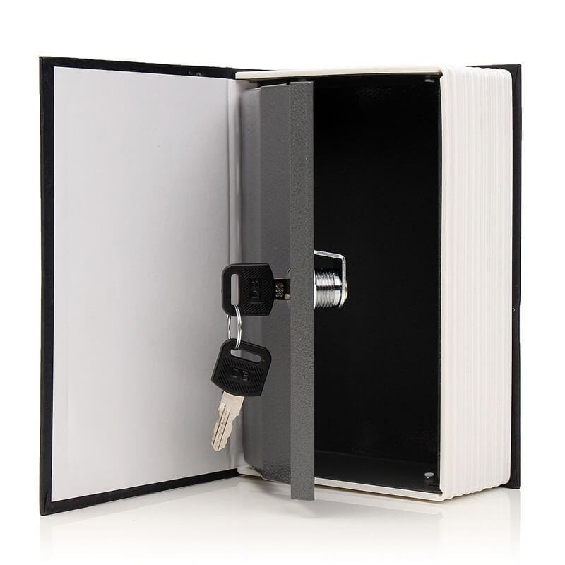 Caja de seguridad camufladas en forma de libro