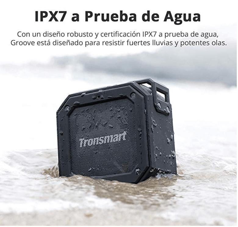 Mini Altavoz portatil con bluetooth impermeable para ir de viaje
