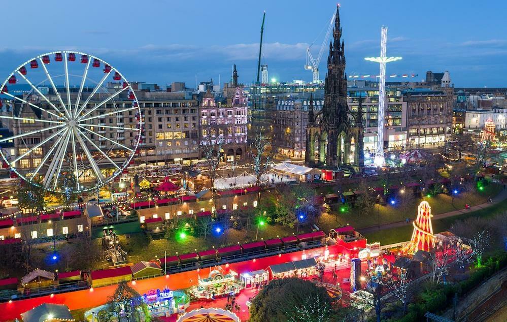Edinburgh Para ir de vacaciones en navidad