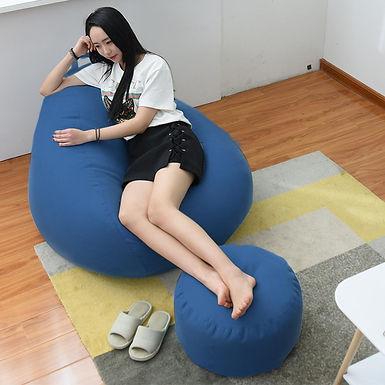 Sofa Inflable individual Para Ver Tele