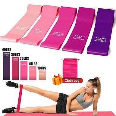 Bandas para hacer ejercicio en casa