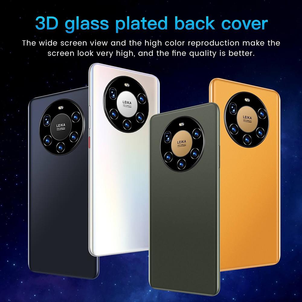 Telefono móvil bueno, barato como buenas prestaciones, muy buenas camaras frontal y  trasera: Huawei Mate40 Pro versión global con pantalla de 7,3 pulgadas, deca core, 6000mAh, 12GB, 512GB, red 4G, LTE y 5G.