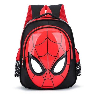 Mochila Spiderman Niños Con Diseño Del Hombre Araña Para Niños 3-8 Años