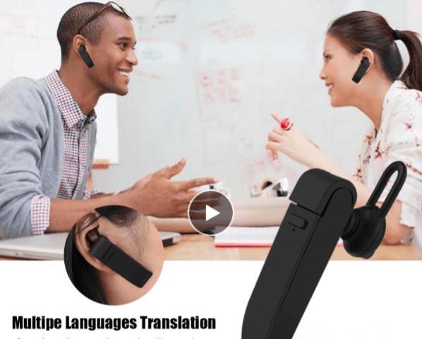 Traductor de idioma intantaneo para viajes internacionales