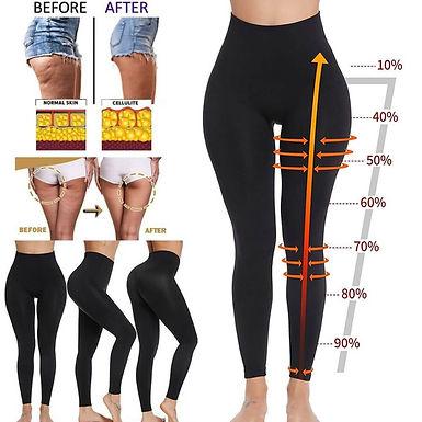 Leggins Reductores Anticeluliticos Efecto Push Up Vestir Compresión Adelgazantes