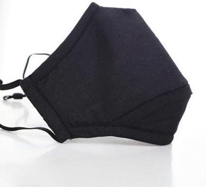 Mascarillas De Tela Reutilizables Lavables Con Filtro Negras Azul Marino Rojas