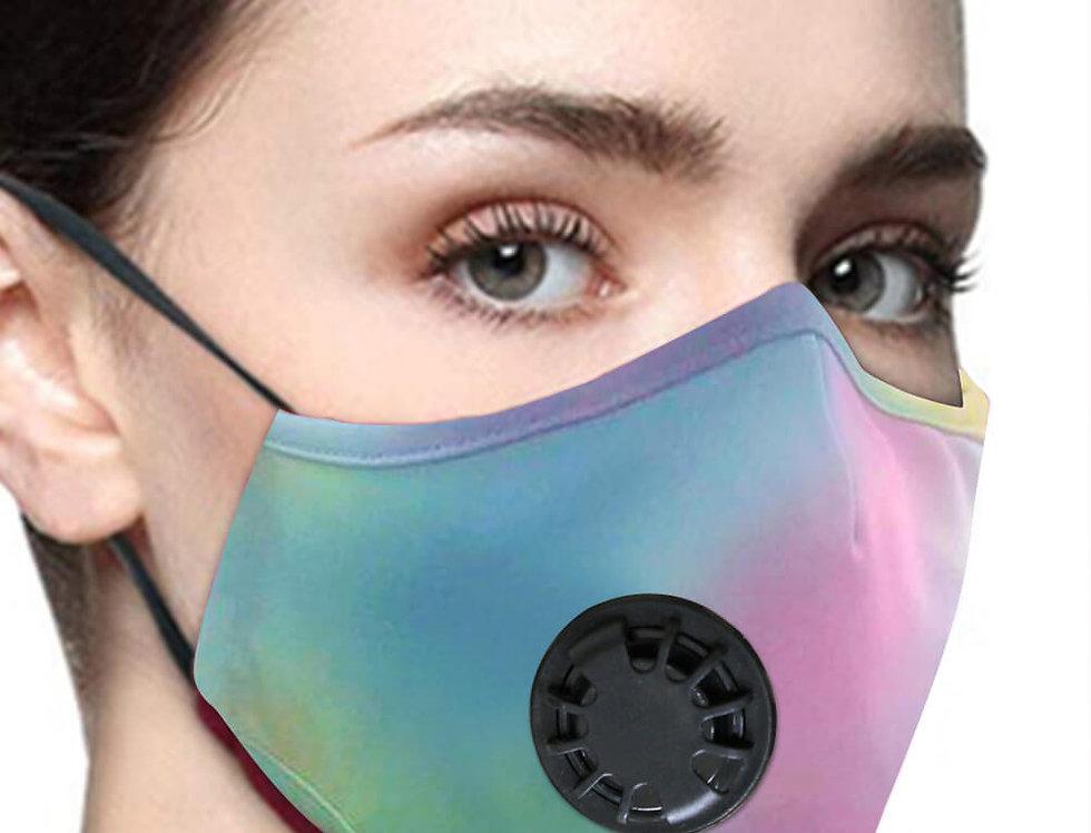 Mascarillas Lavables Reutilizables Con Filtro y Valvula Parairdevacaciones