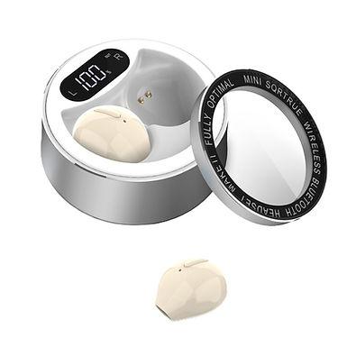 Mini Auriculares Bluetooth Con Caja De Carga, Cascos Inalambricos base de carga