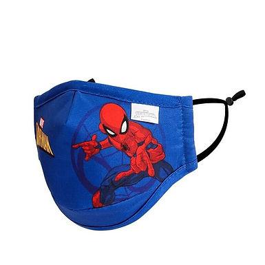 Mascarillas Spiderman Niños Con Dibujos Del Hombre Araña Infantil 3-9 Años