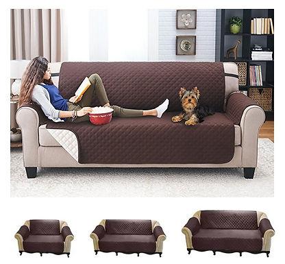Funda de sofá repelente de pelos de perros