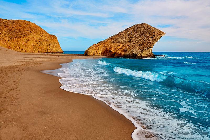 Playa-de-Mónsul-Almería-Andalucía