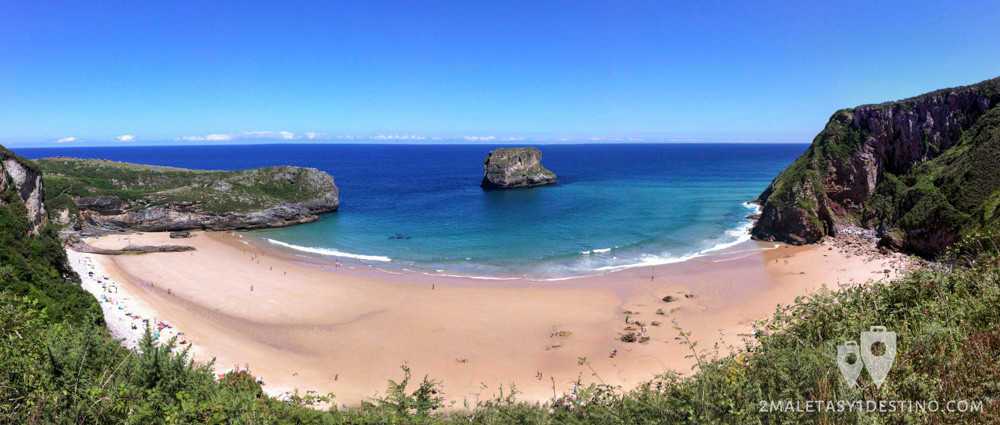 Playas-para-ir-de-vacaciones-Playa-Cué-de-Llanes-Asturias
