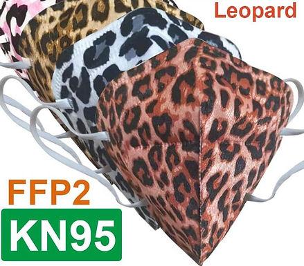 Mascarillas Quirurgicas Leopardo y Mascarillas Quirurgicas Leopardo KN95 / FFFP2