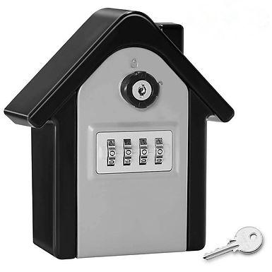 Caja de seguridad con codigo para llaves