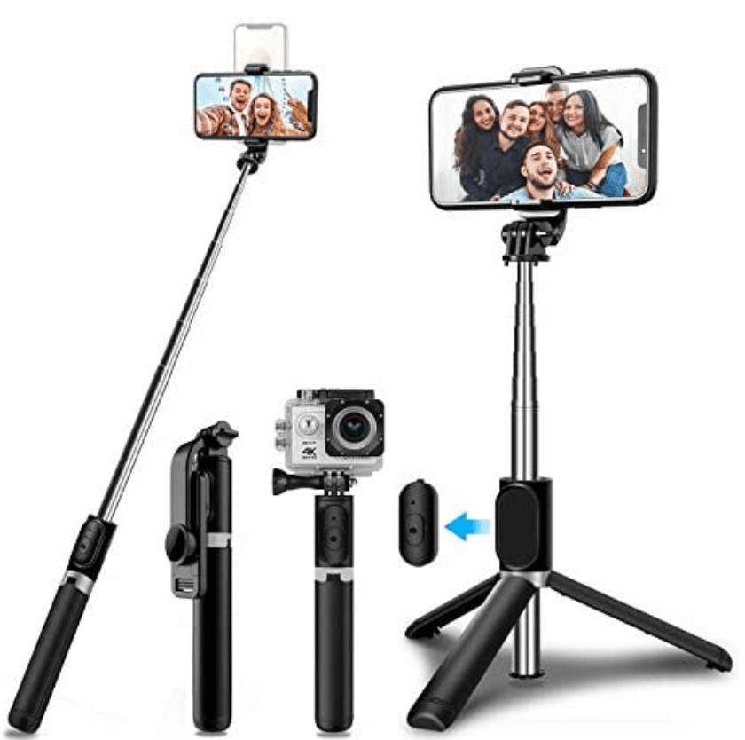 Mejor palo selfie para iPhone para viajeros