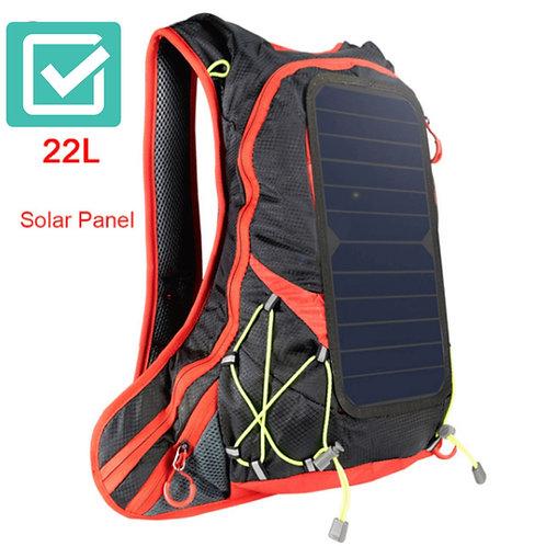 Mochila De Viaje Con Panel Solar Para Ir De Vacaciones