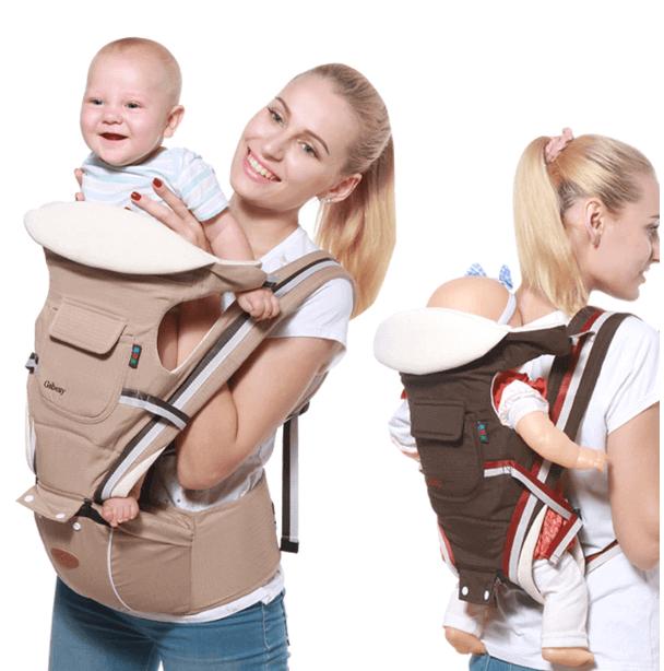 Mochila Portabebés Ajustable para viajar con niños