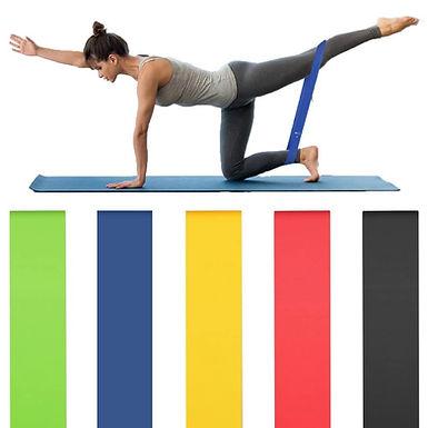 Gomas elasticas ejercicios piernas