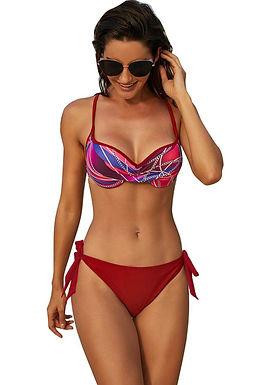 Bikini Dos Piezas Parte De Arriba Push Up y Relleno Ajustables