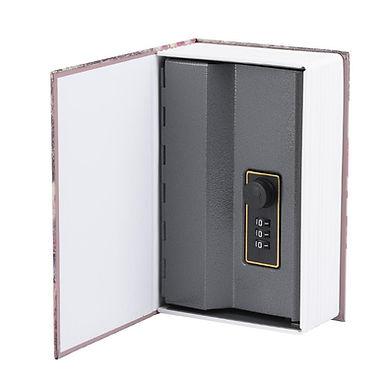 Caja de seguridad en forma de libro