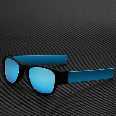 Gafas Plegables Enrollables Enreda Todo Polarizadas Con  Lentes Azules Para Viaj