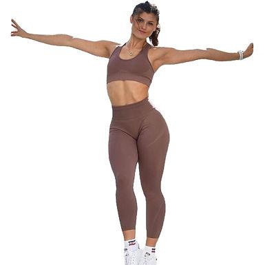 Leggins sin costura lateral deportivo yoga, mallas sin costura lateral deportiva