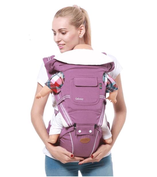 Mochila portabebes para ir de vacaciones con niños
