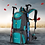 Mochila de mochilero para viajes largos parairdevacaciones.com
