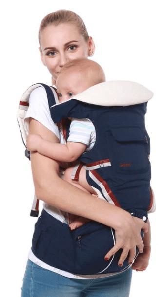 Mochila portabebes ajustable para viajar con niños